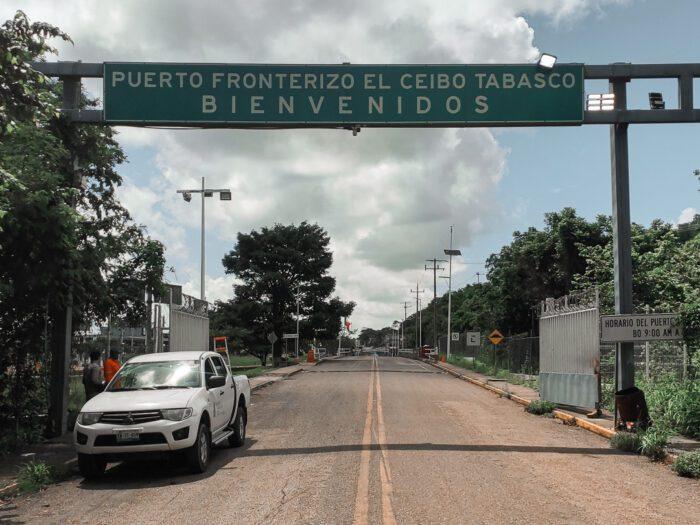 Mexican–Guatemalan border crossing