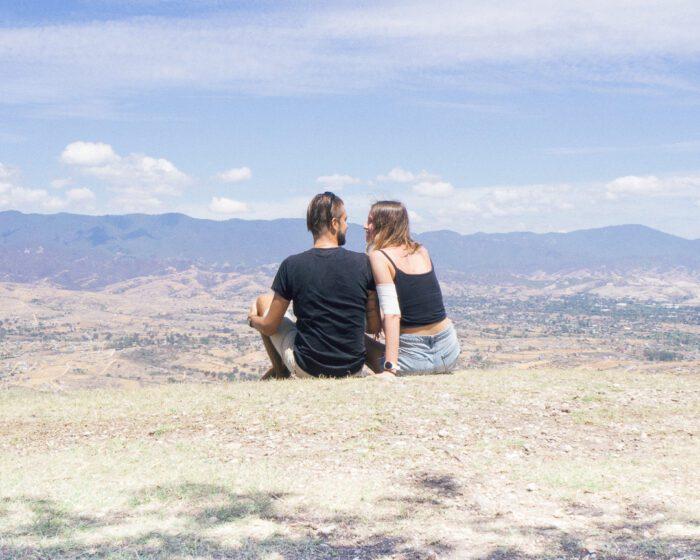 Mountains above Oaxaca
