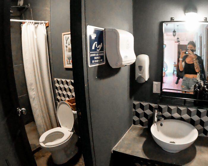 Selina Oaxaca koupelna